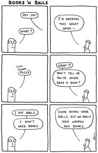 Jimzine #21: Books'n Balls