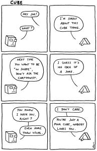 Jimzine #23: Cube